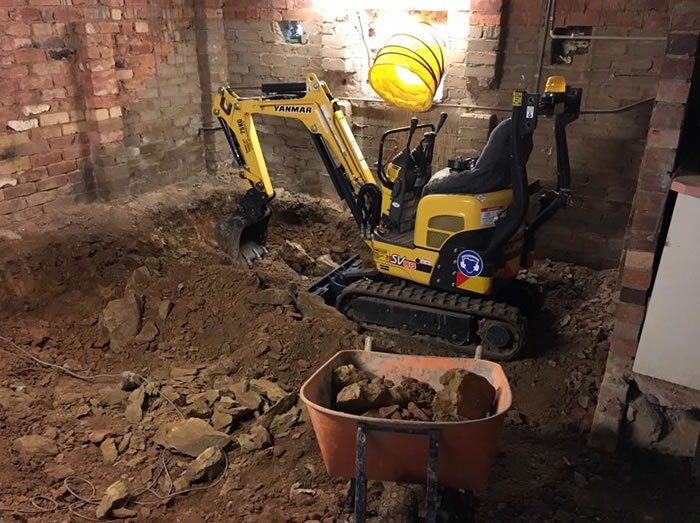 small digger hire in Canberra
